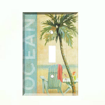 Shop Beach Switch Plate On Wanelo