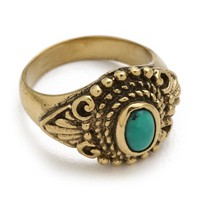 SunaharA Malibu Turquoise Eye Mid Knuckle Ring | SHOPBOP