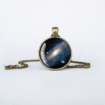 Handmade Milky Way Pendant Milky Way Galaxy necklace detail Jewelry Silver Birthday Gift Glass Pendant Key Ring cb156