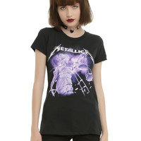 Metallica ...And Justice For All Girls T-Shirt