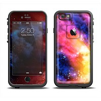 The Super Nova Neon Explosion Apple iPhone 6 LifeProof Fre Case Skin Set