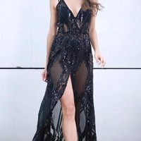 Kari Sequin Luxe Gown