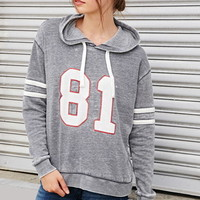 81 Graphic Burnout Hoodie