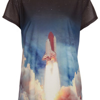 Lift Off Tee By Tee And Cake - Jersey Tops - Clothing - Topshop