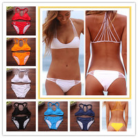 2015 Sexy Swimwear Banyans String Racerback Top Bikinis Set 7 Colors Swimsuit For Women,Size SML-in Bikinis Set from Apparel & Accessories on Aliexpress.com | Alibaba Group