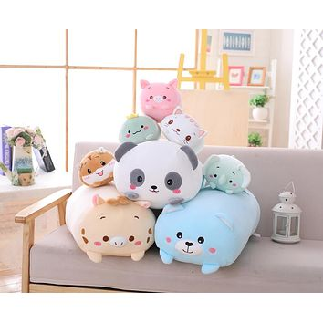 Plush Pillow Pals in Various Shapes & Sizes