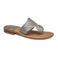 Sparkle Navajo Sandal in Silver & Platinum by Jack Rogers