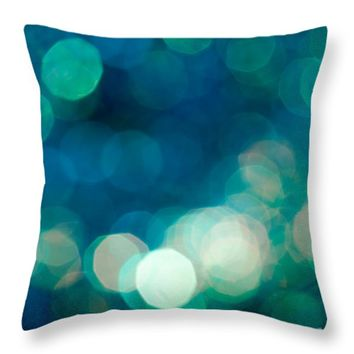 "Rhythm n Blues Throw Pillow for Sale by Jan Bickerton - 14"" x 14"""