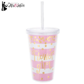 Flower Girl Striped Confetti Cup | Hobby Lobby | 1405026