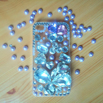 iphone 4,iphone4s case.the big jewelry case.iphone case.jewelry.
