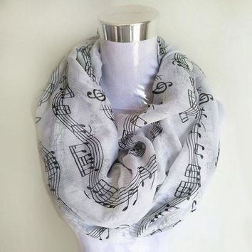 ONETOW Musical Notes winter Scarf