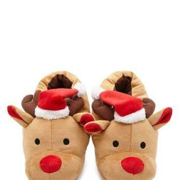 ONETOW Holiday Reindeer Slippers