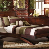Bedroom Expressions: Pacific Heights 4 Pc. Queen Group : B4-EBPHQ
