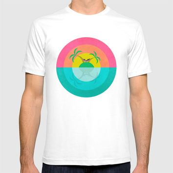 Summer Island Unicorn T-shirt by That's So Unicorny