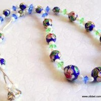 Petals Pearls by RebeccasJewelry on Zibbet