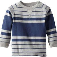 Quiksilver Baby Boys' Snit Stripe Sweater, Haggis, 18 Months