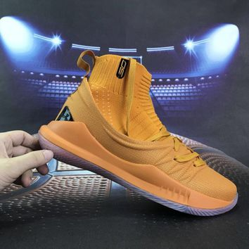 [ Free  Shipping ]Under Armour Curry 5 PiDay Basketball Sneaker