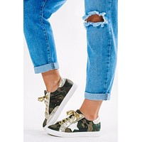 See You At The Rock Show Sneakers: Camo/Multi