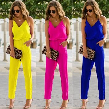 One Piece Jumpsuit For Women Bodycon Romper