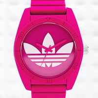 Adidas Large Santiago Watch in Pink - Urban Outfitters
