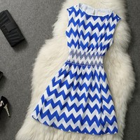 The European and American wind fashion dress skirt