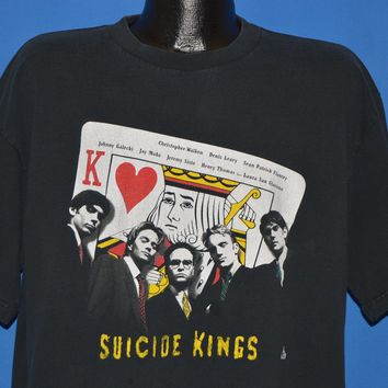 90s Suicide Kings 1997 Movie t-shirt Extra Large