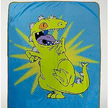 Reptar Fleece Blanket - Rugrats - Spencer's