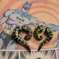 THE ORIGINAL Holy Bat Plug Fake Gauge Earring by deceptions