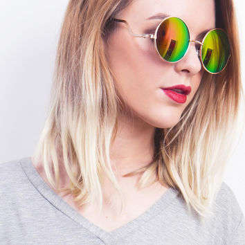 Chromatic Round Sunglasses