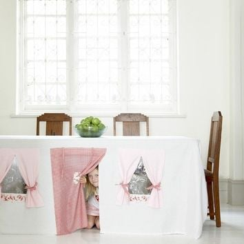 Tablecloth Play House