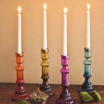 Boho It's Eclectic! Candlestick by Karma Living from ModCloth