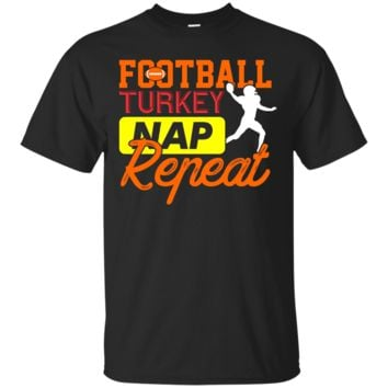 Football, Turkey, Nap, Repeat Funny T-Shirt Hoodie