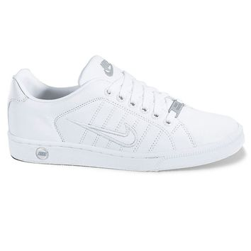 low priced f9668 a3fc7 Nike Court Tradition II Womens Tennis Shoes (White)