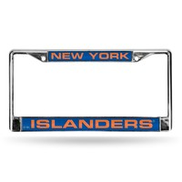 NEW YORK ISLANDERS LASER CHROME FRAME