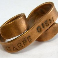 Ring - Custom Two Finger Banner Ring | UsTrendy