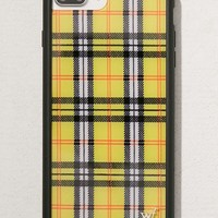 Wildflower Yellow Plaid iPhone 8/7/6 Plus Case | Urban Outfitters