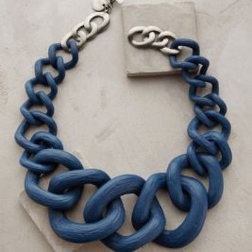 Crescendo Link Necklace by Anthropologie