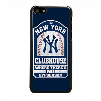 new york yankees clubhouse iphone 5c 5 5s 4 4s 6 6s plus cases