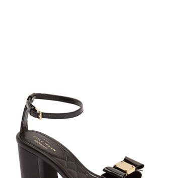 Cole Haan Tali Bow Block Heel Ankle Strap Sandal