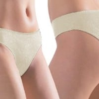 Women's Sexy Comfort Full Coverage Panty BEIGE L