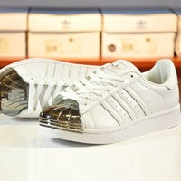 """Adidas"" Women Men Shell-toe Sneakers Sport Shoes Flats"