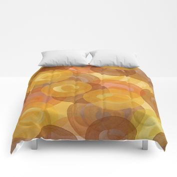Autumn Swirls Comforters by UMe Images