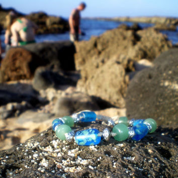 Dreaming of the Sea Stacking Bracelet Beach Jewelry