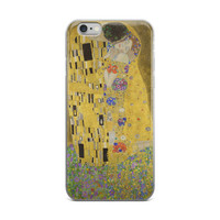 The Kiss, Gustav Klimt iPhone case