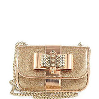 Sweet Charity Glitter Mini Shoulder Bag