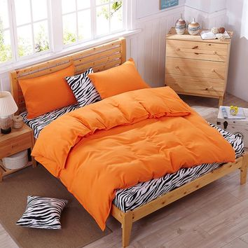 Zebra spell bedding sets comforter cover pillowcase bed sheet twin full queen duvet cover king size