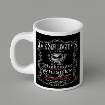 Gift Mugs | Jack Skellington Nighmare Whiskey   Ceramic Coffee Mugs