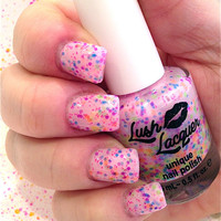 NEW--I Lost My Marbles:  Custom-Blended Glitter Nail Polish / Lacquer