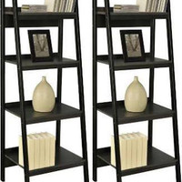 Ladder Bookshelf - Set of Two Bookshelves