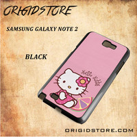 Hello Kitty Pink Lemon For Samsung Galaxy Note 2 Case - Gift Present Multiple Choice
